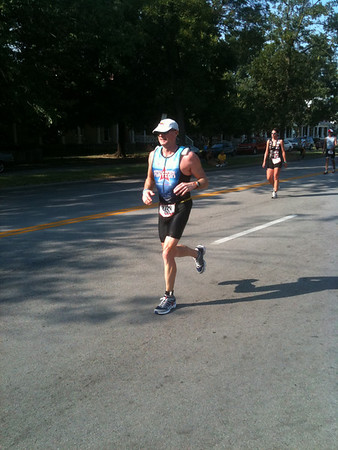 Dan Gilliat on the run.